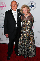 BEVERLY HILLS, CA, USA - OCTOBER 11: Clive Davis, Barbara Davis arrive at the 2014 Carousel Of Hope Ball held at the Beverly Hilton Hotel on October 11, 2014 in Beverly Hills, California, United States. (Photo by Celebrity Monitor)