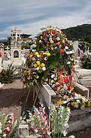 Mexican Cemetery 23 - Photograph taken in El Panteón Cementario, also know as Cementario Viejo or old cemetery, in Puerto Vallarta, Mexico.