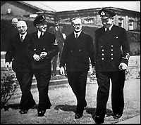 BNPS.co.uk (01202 558833)<br /> Pic: Pen&amp;Sword/BNPS<br /> <br /> Colin at the opening of a new wing at Queen Mary&rsquo;s Hospital, Roehampton, in 1942. On the right is Lord Horder, next to whom is Petty Officer Young, another legless man. On the extreme left is the Rt. Hon. Sir Walter Womersley, PC, then the Minister of Pensions.<br /> <br /> he remarkable story of a British hero double amputee pilot who took to the skies during the Second World War has come to light.<br /> <br /> Flight Lieutenant Colin Hodgkinson lost his legs in a horror crash in a Tiger Moth in May 1939 but went on to emulate Sir Douglas Bader and fly Spitfires in the Royal Air Force.<br /> <br /> He even endured a spell in the Great Escape prisoner of war camp after being shot down over France in 1943 but rejoined the RAF after being repatriated.<br /> <br /> The pair were the only two British double amputee pilots to fly during the war - yet while Bader, rightly, is a household name, Flt Lt Hodgkinson's exploits have been largely forgotten.<br /> <br /> This has prompted historian Mark Hillier to publish Flt Lt Hodgkinson's autobiography 60 years after it was penned which he hopes will shine some limelight on a 'special' man whose courage he says was every bit as great as Baders'.<br /> <br /> Best Foot Forward, by Colin Hodgkinson, is published by Pen &amp; Sword.