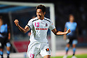 Hiroshi Kiyotake (Cerezo),AUGUST 6, 2011 - Football :Hiroshi Kiyotake of Cerezo Osaka celebrates after scoring the opening goal during the 2011 J.League Division 1 match between between Kawasaki Frontale 1-2 Cerezo Osaka at Todoroki Stadium in Kanagawa, Japan. (Photo by AFLO)