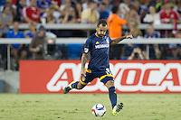 San Jose, Ca. - Friday, August 28, 2015: The San Jose Earthquakes defeated the Los Angeles Galaxy 1-0 at Avaya Stadium.