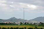 North Korean Flag, Tallest flagpole in the world, in Kijong-dong