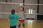Water Valley volleyball practice in Water Valley, Miss. on Thursday, August 4, 2011.