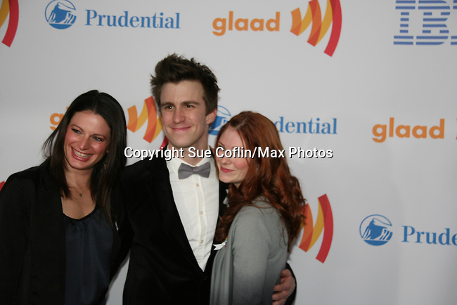 Gavin Creel & Hair at the 21st Annual GLAAD Media Awards on March 13, 2010 at the New York Marriott Marquis, New York City, NY. (Photo by Sue Coflin/Max Photos)