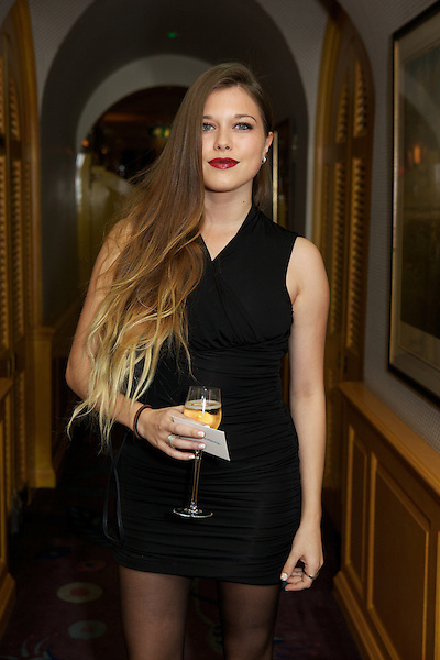 Rebecca Hoffnung from Made in Chelsea at Annabel's Club for The Tatler Little Black Book Party, London