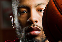 FAYETTEVILLE, AR - OCTOBER 5:   University of Arkansas Basketball player Marvell Waithe photographed in the Razorback basketball locker room on October 5, 2011 in Fayetteville, Arkansas.  (Photo by Wesley Hitt/Getty Images) *** Local Caption *** Marvell Waithe