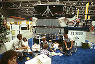 Truck week in Kansas City, Missouri. September 9, 1978. The annual truck week happened in Kansas City where truck drivers gathered from all over USA to see the new production of all truck factories around the world. They also have dance, concert, best of the show, and union meetings. Kids and adults have fun at the show.