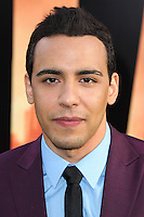 """HOLLYWOOD, LOS ANGELES, CA, USA - MAY 08: Victor Rasuk at the Los Angeles Premiere Of Warner Bros. Pictures And Legendary Pictures' """"Godzilla"""" held at Dolby Theatre on May 8, 2014 in Hollywood, Los Angeles, California, United States. (Photo by Xavier Collin/Celebrity Monitor)"""