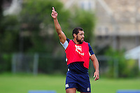 Taulupe Faletau of Bath Rugby. Bath Rugby pre-season training session on August 9, 2016 at Farleigh House in Bath, England. Photo by: Patrick Khachfe / Onside Images