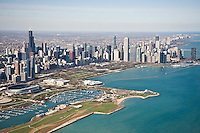 Aerials View of Chicago