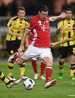 FUSSBALL  DFB POKAL FINALE  SAISON 2015/2016 in Berlin FC Bayern Muenchen - Borussia Dortmund         21.05.2016 Robert Lewandowski (FC Bayern Muenchen)