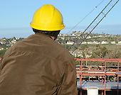 Stock Photo Project Manager at Construction site