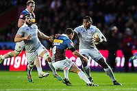 Semesa Rokoduguni of Bath Rugby  in possession. Aviva Premiership match, between Harlequins and Bath Rugby on November 27, 2016 at the Twickenham Stoop in London, England. Photo by: Patrick Khachfe / Onside Images