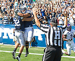 C30C6991 sqaure..2012 FTB vs Weber State University..BYU - 45.Weber State - 6. .Photo by Jonathan Hardy/BYU..September 8, 2012..© BYU PHOTO 2012.All Rights Reserved.photo@byu.edu  (801)422-7322