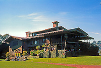 The Brothers Greene: The Gamble House 1908. From the Northeast. (Photo '87)