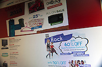 Back to school supplies are seen on the website of Kmart on Monday, July 19, 2010. An estimated 30.8% of households will shop online this year compared with 22.2% last year. (© Richard B. Levine).