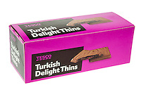 Tesco Turkish Delights Thins Chocolates - Nov 2013.