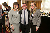 Maggie Ross of Age UK, Grahm Gibson of Cloud Cars and Line Gauteplass of Mazars