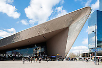 Cetraal Station  in Rotterdam by Benthem Crouwel Architects + MVSA Architects + West 8