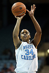 31 January 2013: North Carolina's Xylina McDaniel. The University of North Carolina Tar Heels played the Florida State University Seminoles at Carmichael Arena in Chapel Hill, North Carolina in an NCAA Division I Women's Basketball game. UNC won the game 72-62.