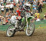 Motocross, MX2 WM 2004, Weltmeisterschaft, Grand Prix of Europe, Gaildorf (Germany) Danny Smyth (GBR), Honda