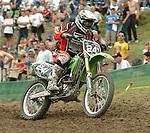 Motocross, MX2 WM 2004, Weltmeisterschaft, Grand Prix of Europe, Gaildorf (Germany) Danny Smyth (GBR), Honda
