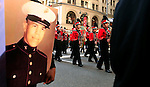 United States, New York, November 11 2011. .Members and Veterans of military forces take part in the Veterans Day Parade in New York November 11 2011.  VIEWpress / Kena Betancur.The Veterans Day Parade has been organized in New York since 1929. Over 25,000 people participate in the Veterans Day Parade in New York City each year, making it the largest in the nation..Local Media Report