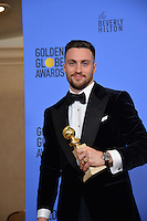 Aaron Taylor-Johnson at the 74th Golden Globe Awards  at The Beverly Hilton Hotel, Los Angeles USA 8th January  2017<br /> Picture: Paul Smith/Featureflash/SilverHub 0208 004 5359 sales@silverhubmedia.com