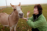 Opera singer Jane Thorngren sings to her miniature donkey, Sebastian, on her family farm near Pilot Mound, Ia.   &quot;He's my sweetheart,&quot; said Thorngren, of the four year-old family favorite.  &quot;My mom loved him, and he always greeted her in the morning.&quot;  Thorngren, an opera singer, has performed all over the world.