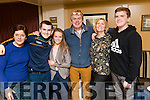 Brendan Hussey, Doon, Tralee who celebrated his birthday with family and friends at No. 4 The Square, Tralee, on Saturday night last, l-r: Sr Maura Hussey, Nicholas Hussey, Breanne Barrett, Brendan Hussey, Jacqueline O'Neill and Matthew Hussey.