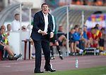 St Johnstone v FC Minsk...01.08.13 Europa League Qualifier at Neman Stadium, Grodno, Belarus...<br /> Tommy Wright screams at his players<br /> Picture by Graeme Hart.<br /> Copyright Perthshire Picture Agency<br /> Tel: 01738 623350  Mobile: 07990 594431