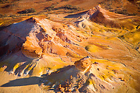 Colors of the Painted Hills    Outback South Australia, Australia   Discovered in 2006