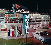 Coral Sands Motel, Wildwood Crest, NJ. Neon Sign - 1959.