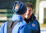 St Johnstone Training&hellip;.17.02.17<br />Manager Tomm Wright talks with Steven MacLean during training this morning at McDiarmid Park ahead of tomorrow&rsquo;s trip to Dingwall<br />Picture by Graeme Hart.<br />Copyright Perthshire Picture Agency<br />Tel: 01738 623350  Mobile: 07990 594431