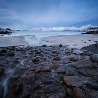 Rorvika beach, Austvågøy, Lofoten Islands, Norway