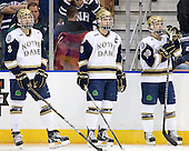 Shayne Taker (Notre Dame - 3), Joe Lavin (Notre Dame - 33), Ben Ryan (Notre Dame - 19) - The University of Notre Dame Fighting Irish defeated the University of New Hampshire Wildcats 2-1 in the NCAA Northeast Regional Final on Sunday, March 27, 2011, at Verizon Wireless Arena in Manchester, New Hampshire.