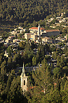 Israel, Jerusalem, the Church of the Visitation and the Church of John the Baptist in Ein Karem