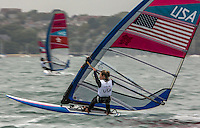 rswusa..Hall Farrah, (USA, RS:X Women)..2012 Olympic Games .London / Weymouth