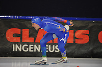 SCHAATSEN: HEERENVEEN: 19-11-2016, IJsstadion Thialf, KNSB trainingswedstrijd, Martijn van Oosten, ©foto Martin de Jong