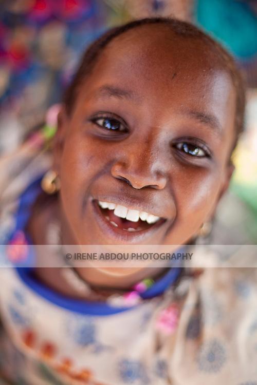 Fulani girl in Djibo in northern Burkina Faso.