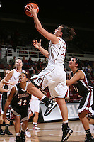 STANFORD, CA - NOVEMBER 1:  Jillian Harmon of the Stanford Cardinal during Stanford's 123-39 exhibition win against Chico State on November 1, 2008 at Maples Pavilion in Stanford, California.