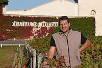 Stephen Carrier, winemaker chateau fieuzal pessac leognan graves bordeaux france