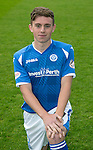 St Johnstone FC Photocall, 2015-16 Season....03.08.15<br /> Craig Thomson<br /> Picture by Graeme Hart.<br /> Copyright Perthshire Picture Agency<br /> Tel: 01738 623350  Mobile: 07990 594431