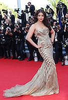 Aishwarya Rai attends 'Deux jours, une nuit' 1ere - 67th Cannes Film Festival - France
