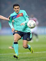 FUSSBALL   CHAMPIONS LEAGUE   SAISON 2011/2012     23.11.2011 AC Mailand - FC Barcelona Pedro Rodriguez  (Barca)
