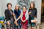 L-r Helena Hayes, Aisling Maher, Lorraine Hartnett and Ciara Looney from Metpro enjoying their christmas party at the Rose hotel