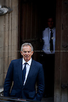 28.05.2012 - Tony Blair at the Leveson Inquiry