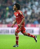 FUSSBALL   1. BUNDESLIGA  SAISON 2012/2013   13. Spieltag FC Bayern Muenchen - Hannover 96     24.11.2012 Jubel nach dem Tor zum 4:0 durch Dante (FC Bayern Muenchen)