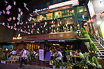 Chic cafes, restaurants and bars are becoming the norm in the Itaewon district of of Seoul, South Korea on 25 June 2010..Photographer: Rob Gilhooly