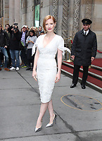 NEW YORK, NY April 21, 2017 Jessica Chastain attend Variety's Power of Women NY Presented by Lifetime, at Cipriani Midtown in New York April 21,  2017. Credit:RW/MediaPunch